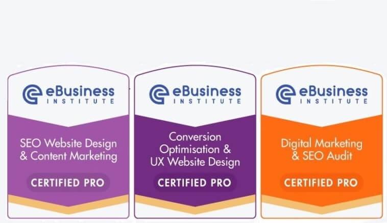 ebusiness institute SEO Website Design Certification