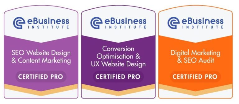 ebusiness institute SEO certification