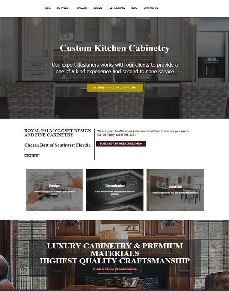 web design strathfield website example 2