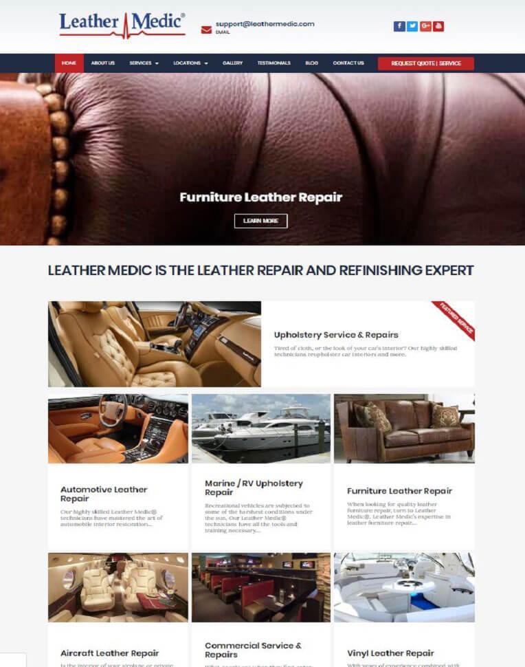 web design strathfield website example 3