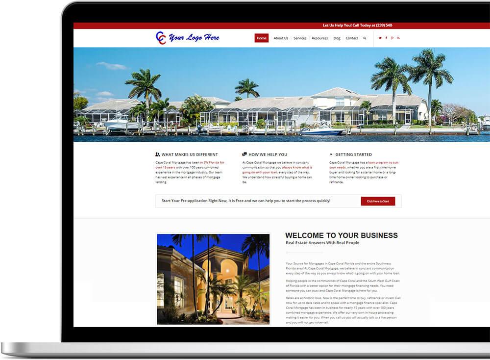web design strathfield example image