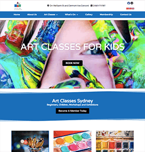 Example web design 1