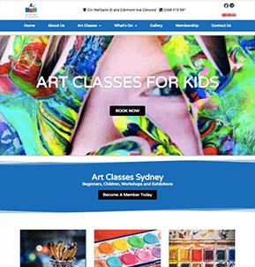 web design strathfield example website 1